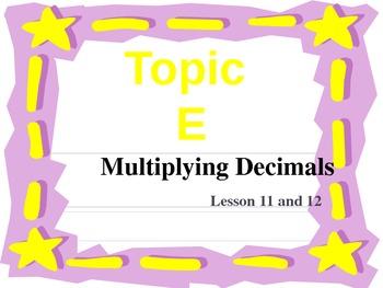 New York State Grade 5 Math Common Core Module 1 Topic E L