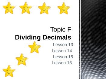 New York State Grade 5 Math Common Core Module 1 Topic F Lesson 13-16