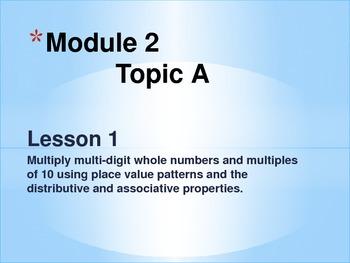 New York State Grade 5 Math Common Core Module 2 Topic A Lesson 1-2
