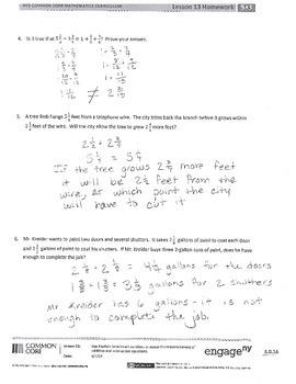 New York State Grade 5 Math Common Core Module 3 Lesson 13-16 Answer Key