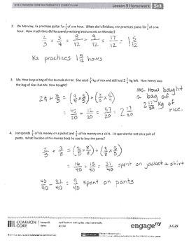 New York State Grade 5 Math Common Core Module 3 Lesson 9-12 Answer Key