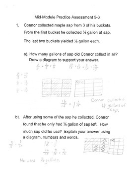 New York State Grade 5 Math Common Core Module 3 Mid Module Test Review Packet
