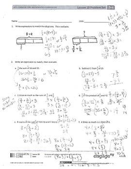 New York State Grade 5 Math Common Core Module 4 Lesson 10