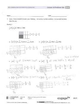EUREKA MATH LESSON 13 HOMEWORK 5.3