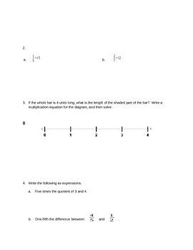 Module 4 Mid Module Assessment & Worksheets | Teachers Pay
