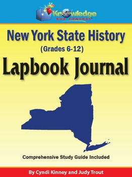New York State History Lapbook Journal