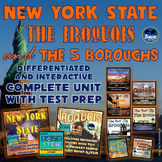 New York State, Iroquois, & 5 Boroughs Super Bundle w/ Test Prep: Complete Unit