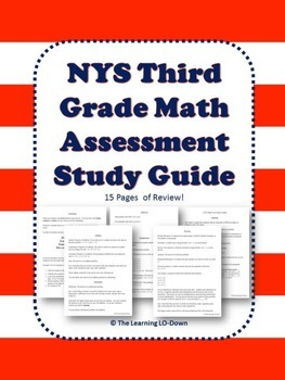 New York State Math Assessment Study Guide