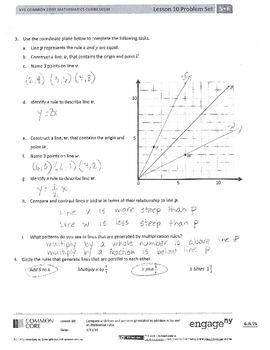 New York State Math Module 6 Grade 5 Lesson 10 and 11 Answer Key