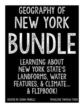 New York State Mini Unit and Flipbook BUNDLE