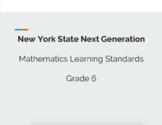 New York State Next Generation Math Standards 6th Grade