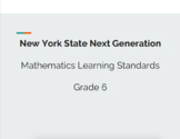 New York State Next Generation Math Standards 6th Grade