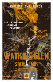 New York Poster Set - WPA State Parks and Geology Poster Set