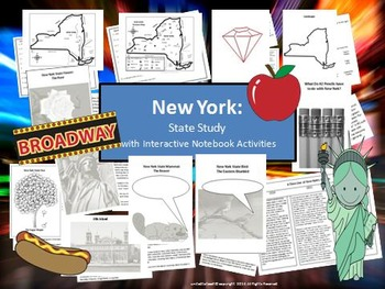 New York State Study & Bulletin Board Display