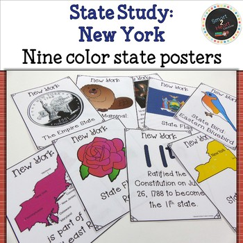 New York State Study Flap Book with Posters and Projects
