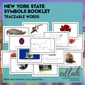 New York State Symbols Booklet