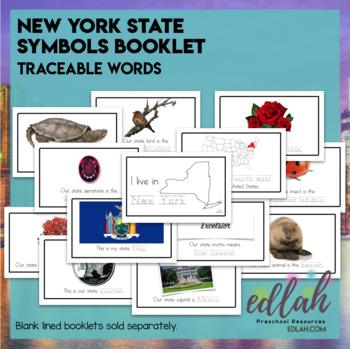 New York State Symbols Booklet