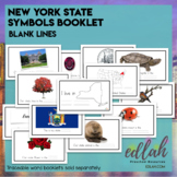 New York State Symbols Booklet - Blank Lines