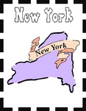 New York State Symbols and Research Packet