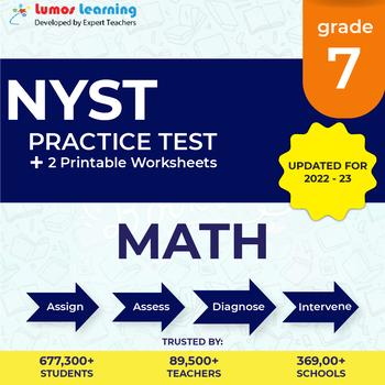New York State Test Prep 7th Grade Math Practice Test - NYST Test Prep