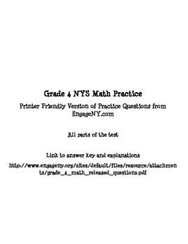 NYS Test Prep - Grade 4 Math {New York}