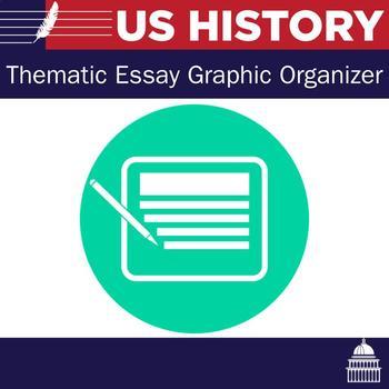 New York State Thematic Essays United States Graphic Organizers
