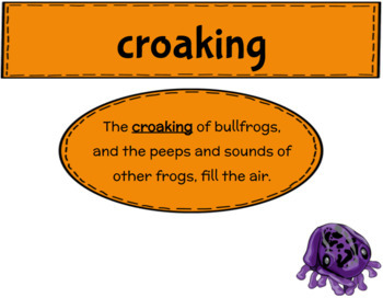 Engage NY Third Grade ELA Module 2 Vocabulary Journal