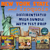 New York State and Iroquois Differentiated Mega Bundle with Test Prep and STEM