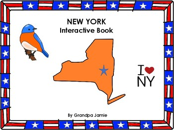 New York State interactive book grades pre-k - second: autism, social studies