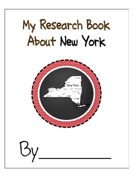 New York Student Research Book