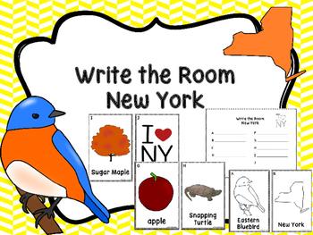 New York Symbols Write The Room