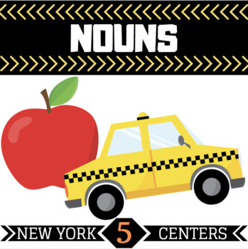 Noun Centers | 5 New York Themed Centers