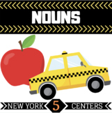 Noun Centers | 5 New York Themed Centers