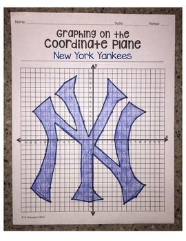 New York Yankees (Coordinate Graphing Activity)