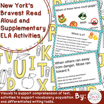 New York's Bravest Read Aloud and Supplementary ELA Activities