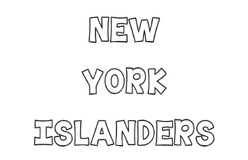 New York sports coloring pages pack!!