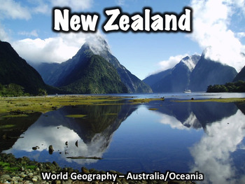 New Zealand Geography and History PowerPoint Presentation