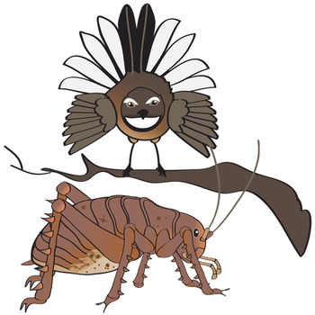 New Zealand Animals Clip Art