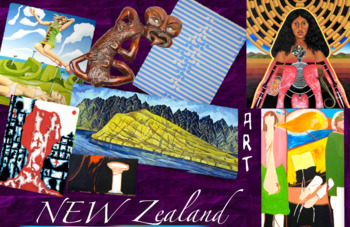 New Zealand Art History ~ FREE POSTER
