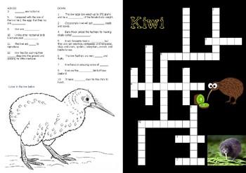 New Zealand Birds, Crosswords
