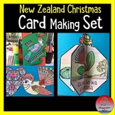 New Zealand Christmas Card Making Set