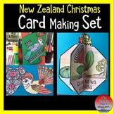New Zealand Christmas Card Making Set