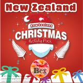 New Zealand Christmas Fun Activity Pack