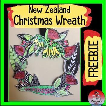 New Zealand Christmas Wreath