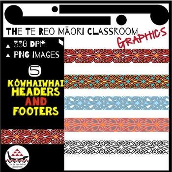 New Zealand Clip Art: Māori Design-Kōwhaiwhai
