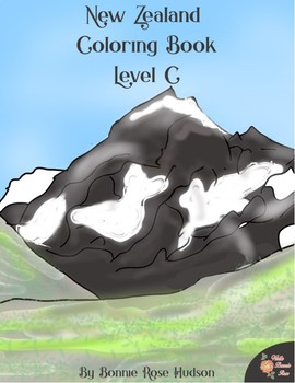 New Zealand Coloring Book-Level C