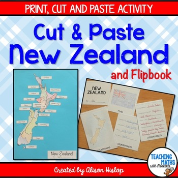 New Zealand Cut and Paste and Flipbook