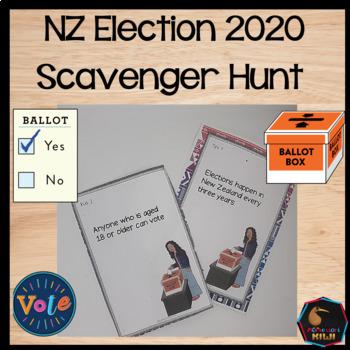 New Zealand Election Scavenger Hunt