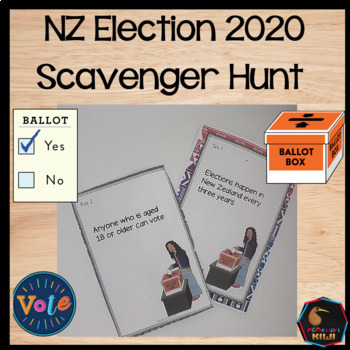 New Zealand Election Scavenger Hunt