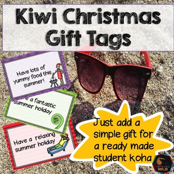 New Zealand End of year gift tags